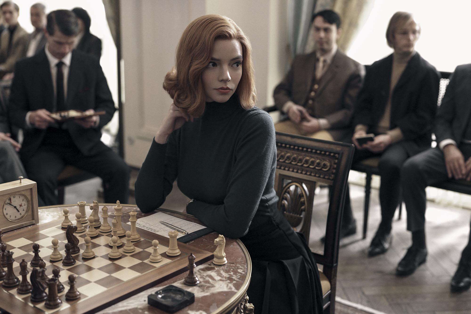 'Gambito de dama', el nuevo e inesperado acierto de Netflix